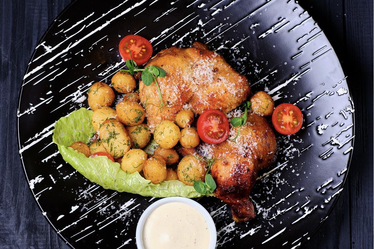 Цыплёнок с картошечкой