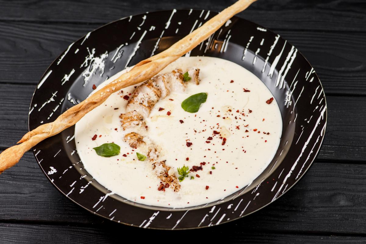 Сирний суп