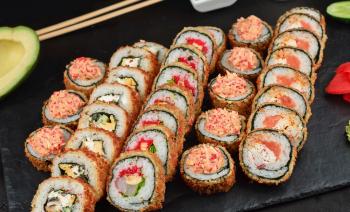 Замовити суші додому в Одесі