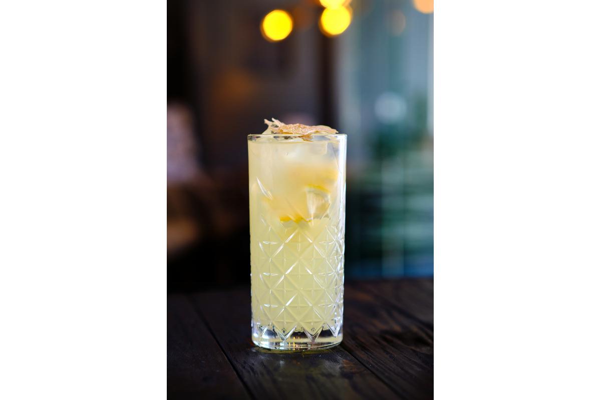 Лимонно- імбирний лимонад